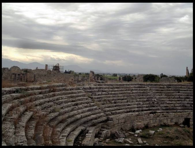 The stadium at Perge.